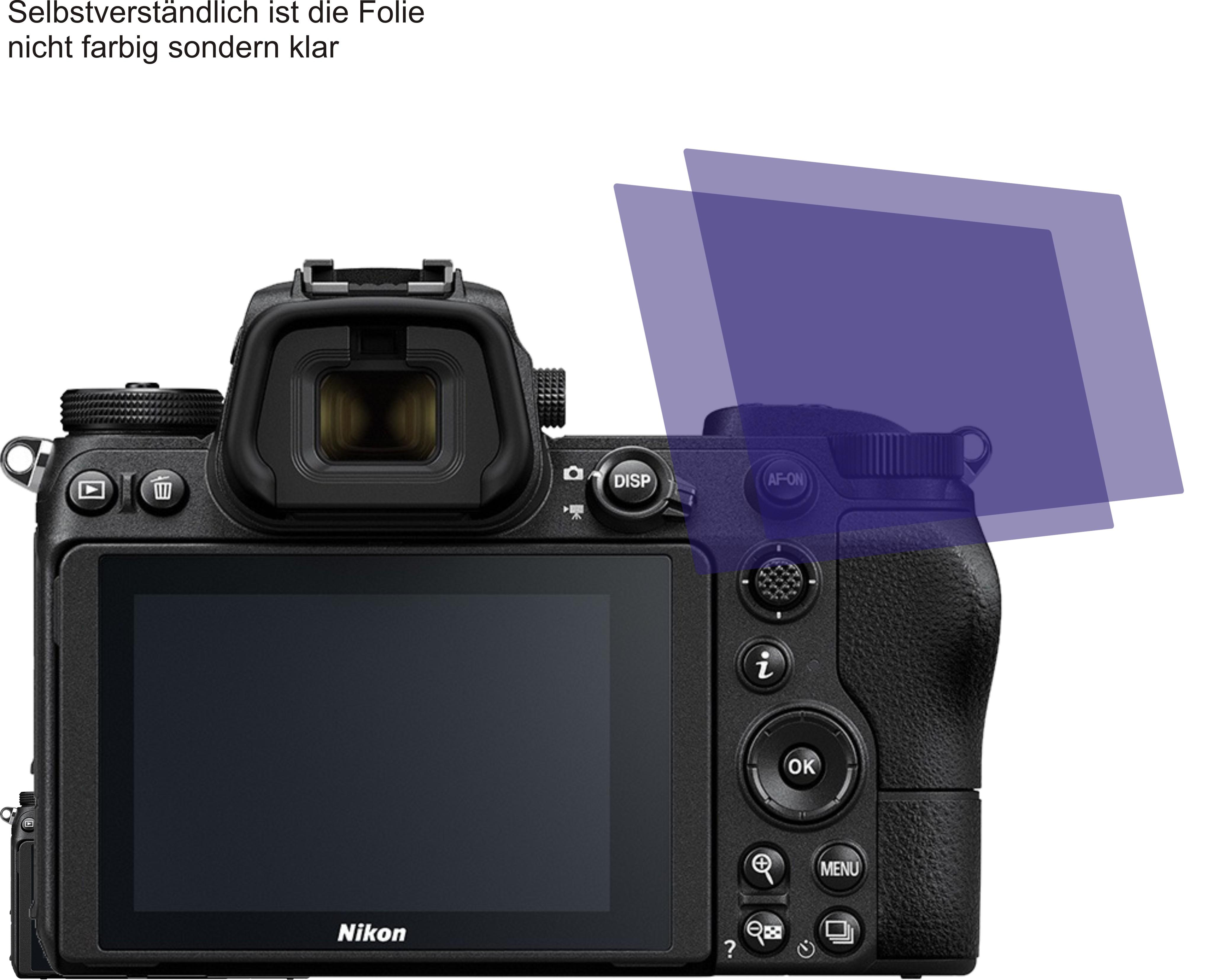 2x Displayschutzfolie antireflex für Nikon Z 6 Z6