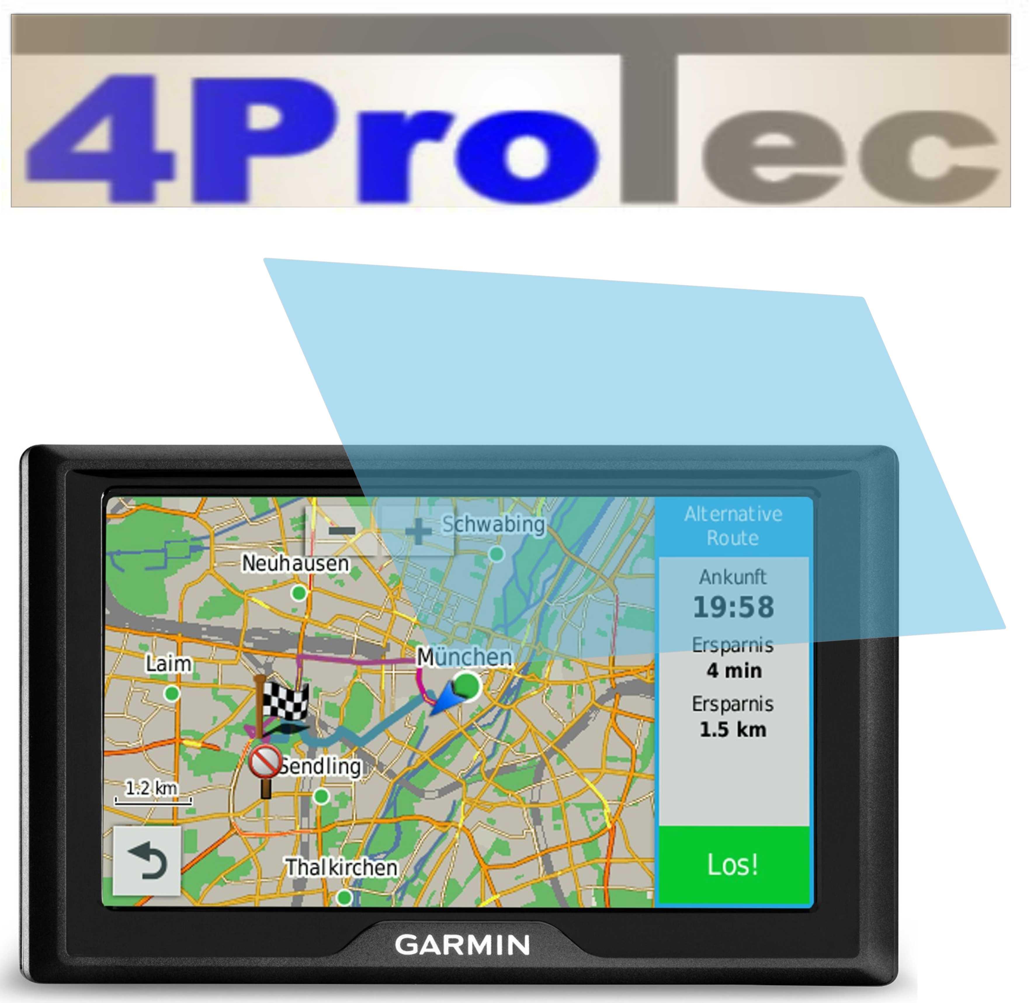 2x Displayschutzfolie antireflex für Garmin Drive 50LMT